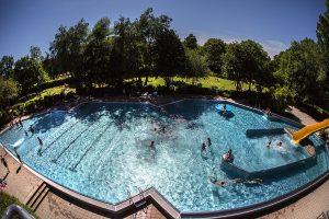 Ab 11. Juni ist das Wöhrdbad wieder für Badegäste geöffnet