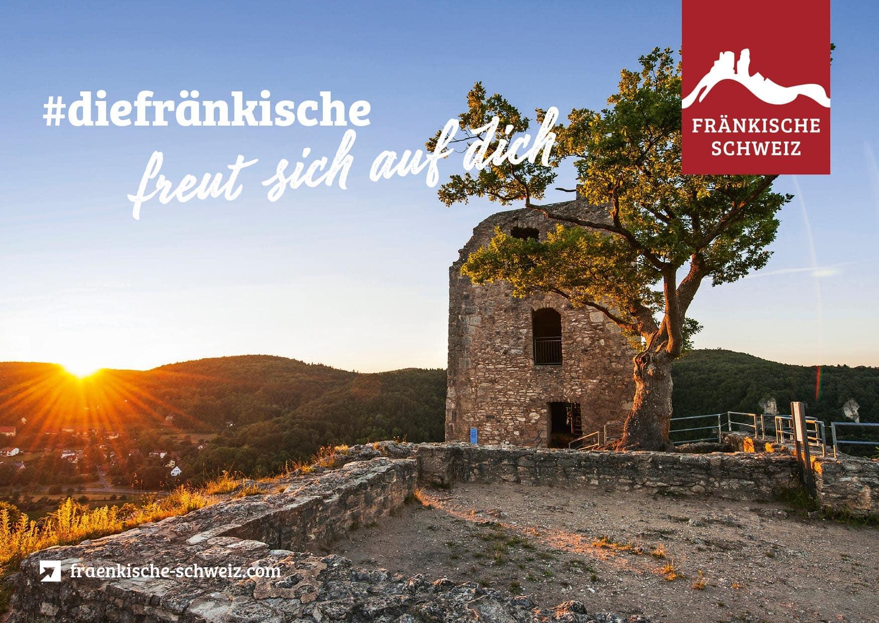 Urlaub in der Fränkischen Schweiz Idyllisch gelegen im Herzen der beliebten Urlaubsregion Franken