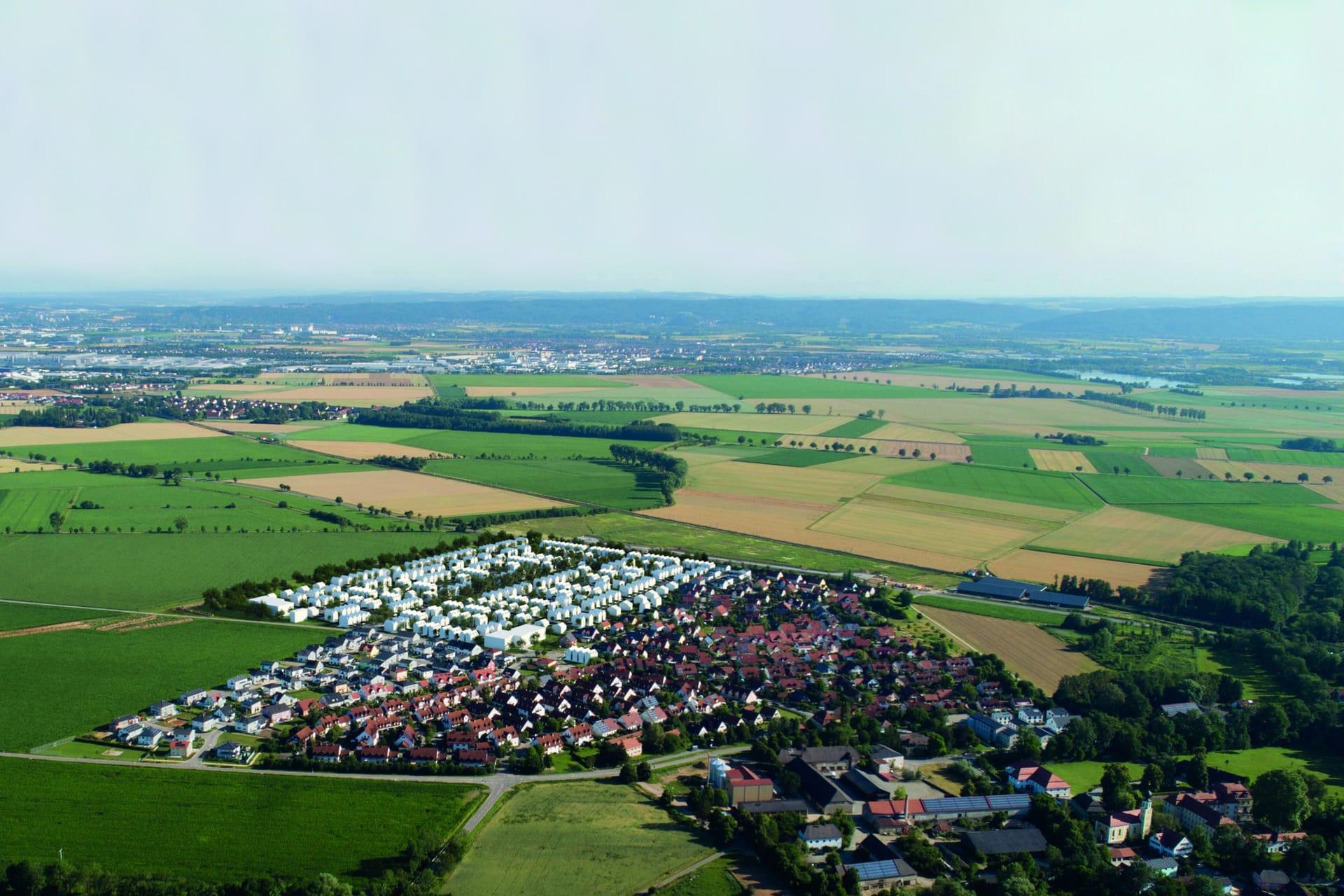 """Garten-Carrés auf ehemaligen Ländereien des Wasserschlosses Gemeinde gibt grünes Licht für das """"Graf Lerchenfeld Quartier"""""""