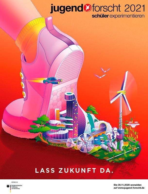 Jugend forscht Plakat 2021