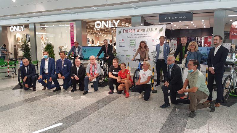 Macht mit! Für das Klima in die Pedale treten! Energie wird Natur Regensburg 2020: Der Startschuss zum Naturprojekte-Spendenmarathon ist gefallen!
