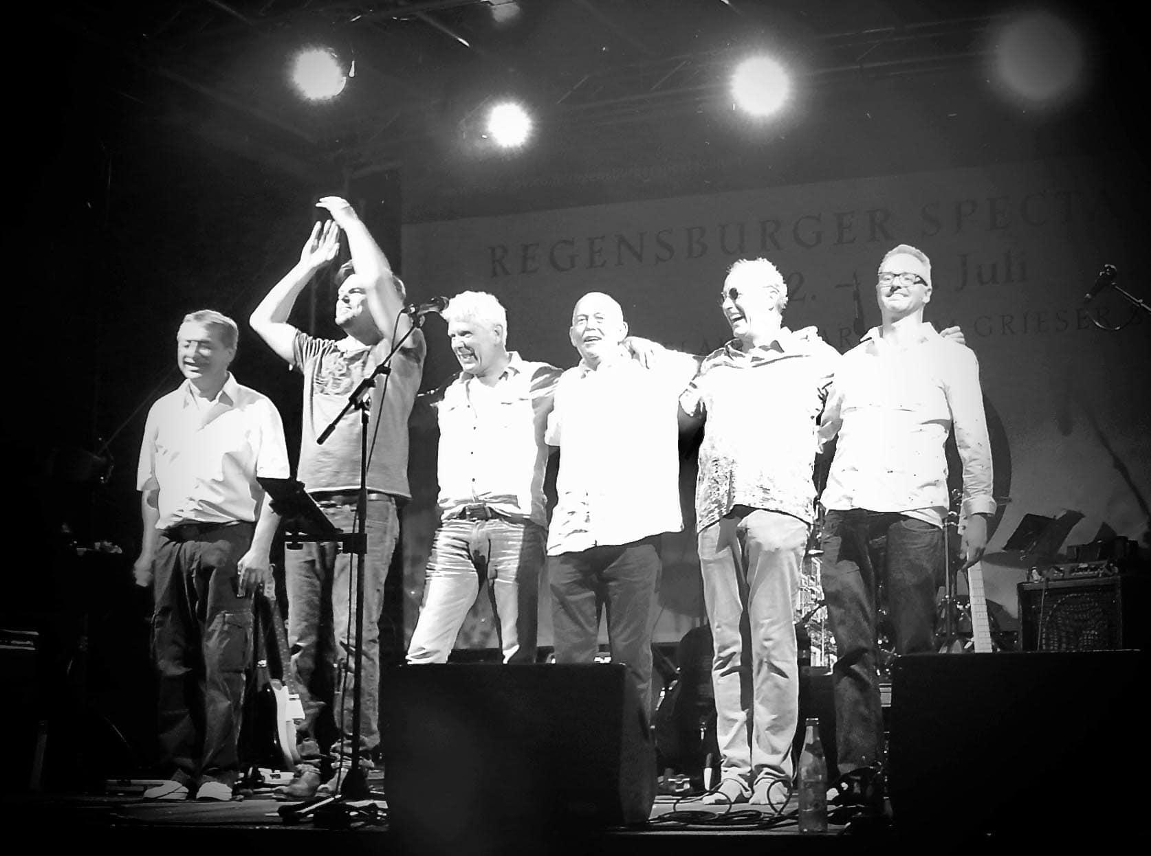 Erdiger Blues und fetziger Rock'n'Roll Konzert am Samstag (11.07.) in der Sportgaststätte des Freien TuS Regensburg