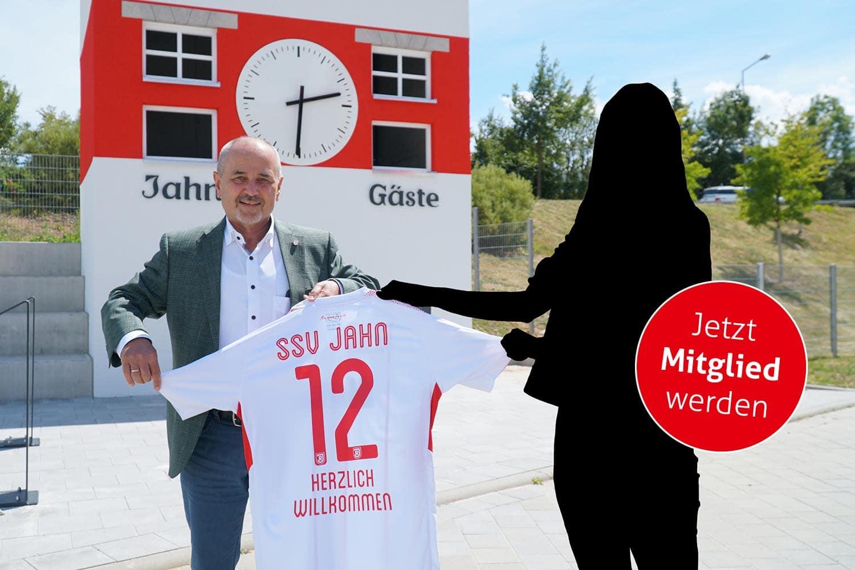 """Fußballverein SSV Jahn Regensburg startet Mitgliederaktion Mit der Aktion """"Mit Dir zum Wir. Gemeinsam #JahnSein."""" können Fans ihre Verbundenheit zum Verein Ausdruck verleihen"""