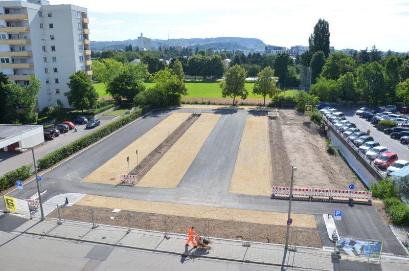 Parkplaetze am Landratsamt Regensburg