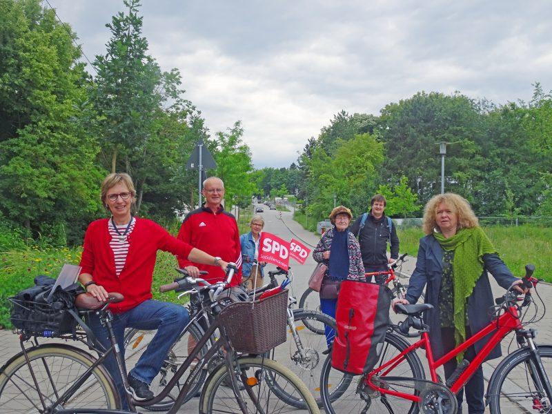 SPD Ortsverein setzt sich für Verbesserungen bei Radwegen ein