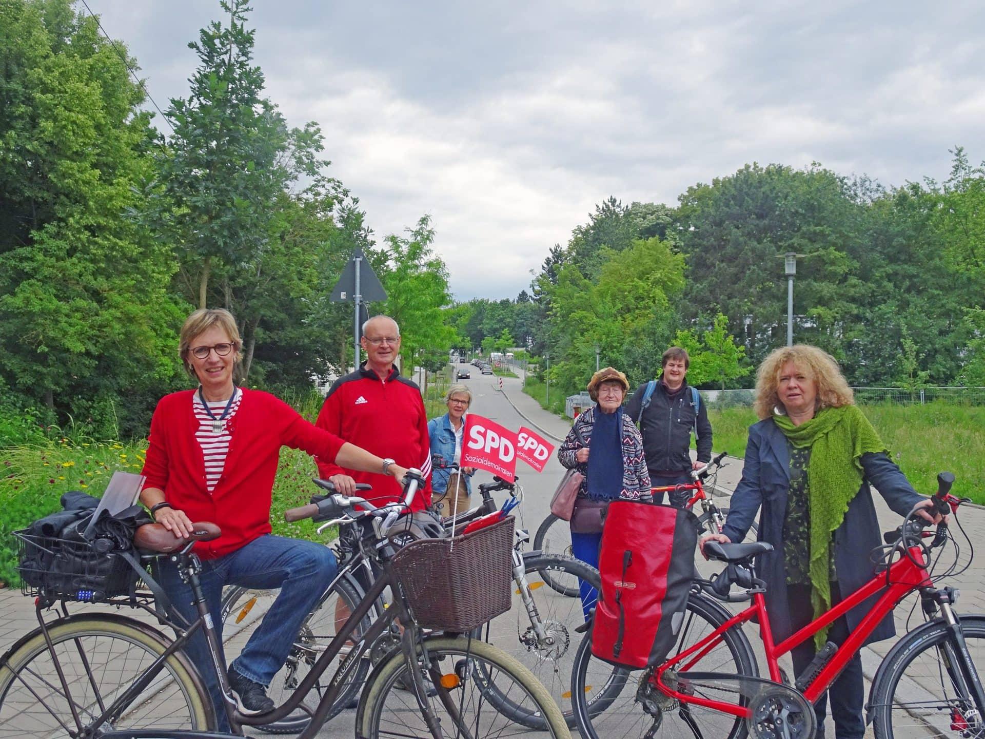 SPD Ortsverein setzt sich für Verbesserungen bei Radwegen ein Es bewegt sich was vor Ort – Verbesserungen für Verkehrssicherheit und Radverkehr