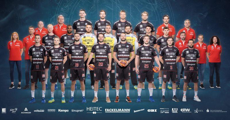 Handball: HC Erlangen gewinnt Testspiel gegen die DJK Rimpar Wölfe Team von Trainer Michael Haaß überzeugte
