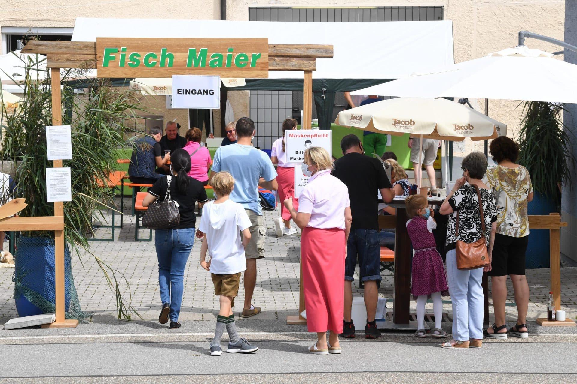 Dritte Runde für Fisch Maiers Hofwirtschaft Am 6. September nach Frengkofen