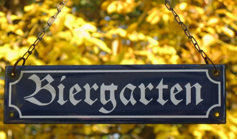 Ärger um Pop-up-Biergarten