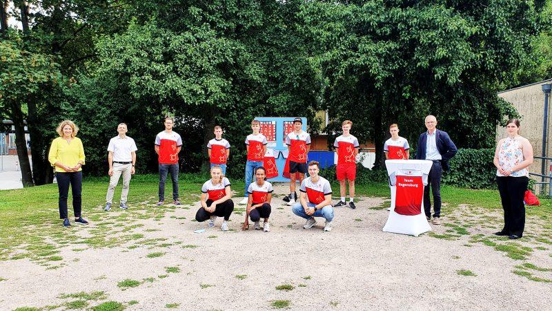 """Förderung für junge Sport-Talente """"Team Regensburg"""": 30 Leistungssportler/innen erhalten Finanzspritze"""