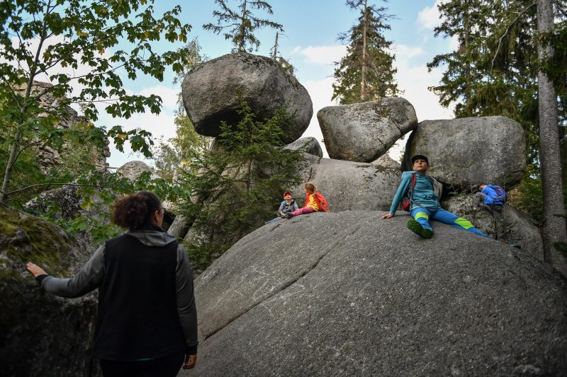 Auf Entdeckungstour in Europas größtem Felsenlabyrinth Bei Wunsiedel gibt es 300 Millionen alte Granitsteinblöcke