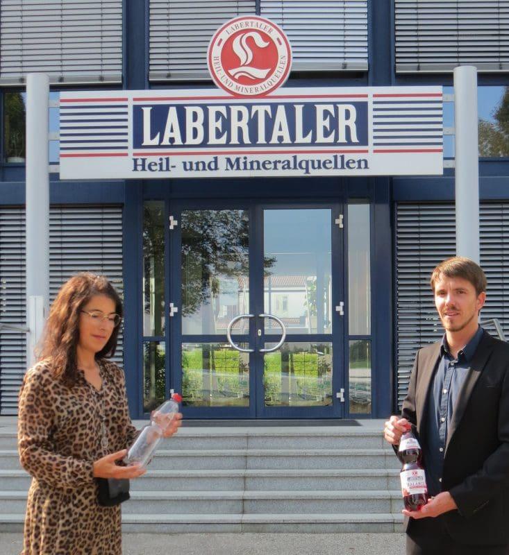 PET-Flaschen aus Recycling-Material LABERTALER in Schierling setzt sich für den Naturschutz ein