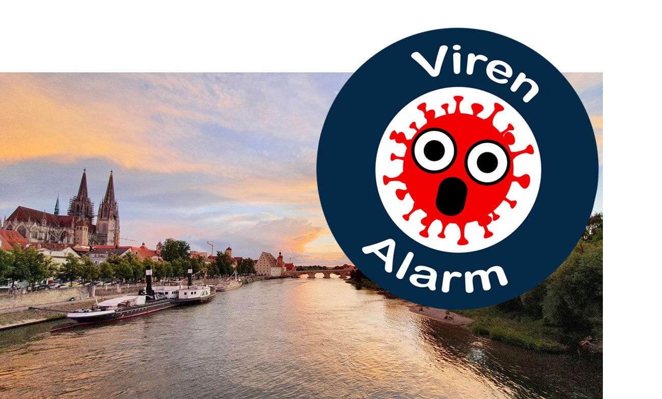 Regensburg in Alarmzustand Corona-Frühwarnwert überschritten: verschärfte Maßnahmen bis 29.09.