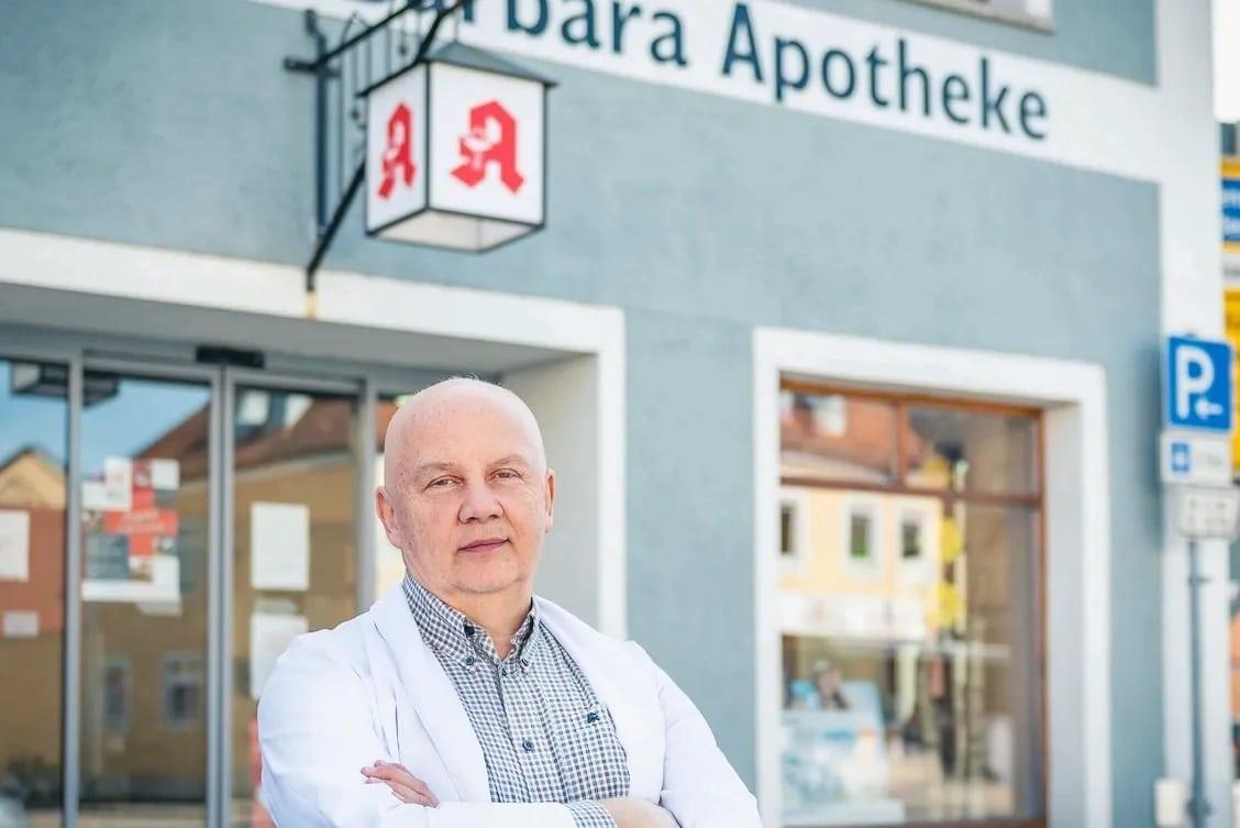 """""""Krankheit entsteht durch Mangel"""" Apotheker Wolfgang Endres aus Pfreimd plädiert für eine """"klügere Medizin"""""""