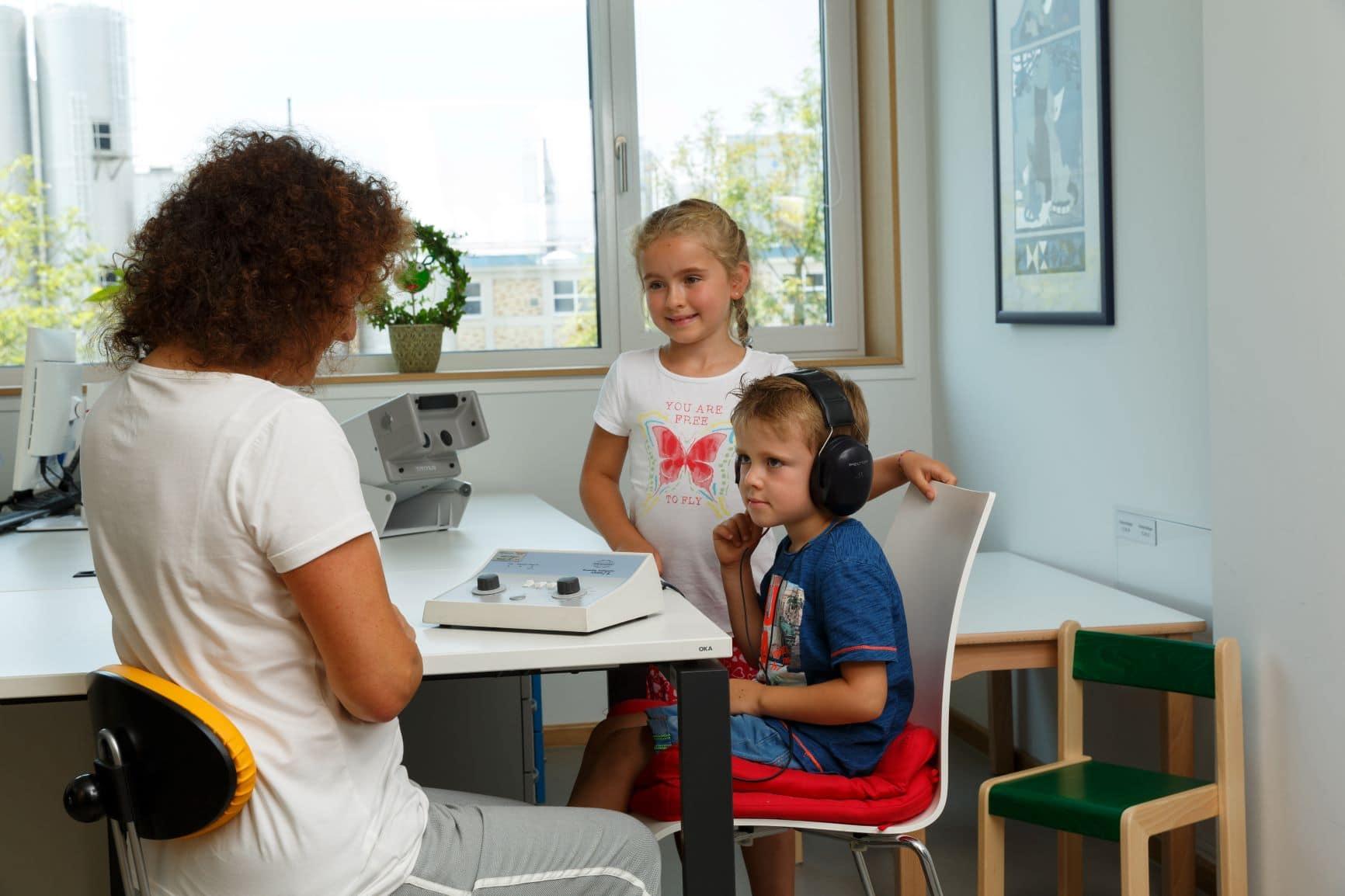 Hört mein Kind richtig? Spricht es altersgemäß? Kostenlose Beratung bei Hör- und Sprachproblemen am 24. September