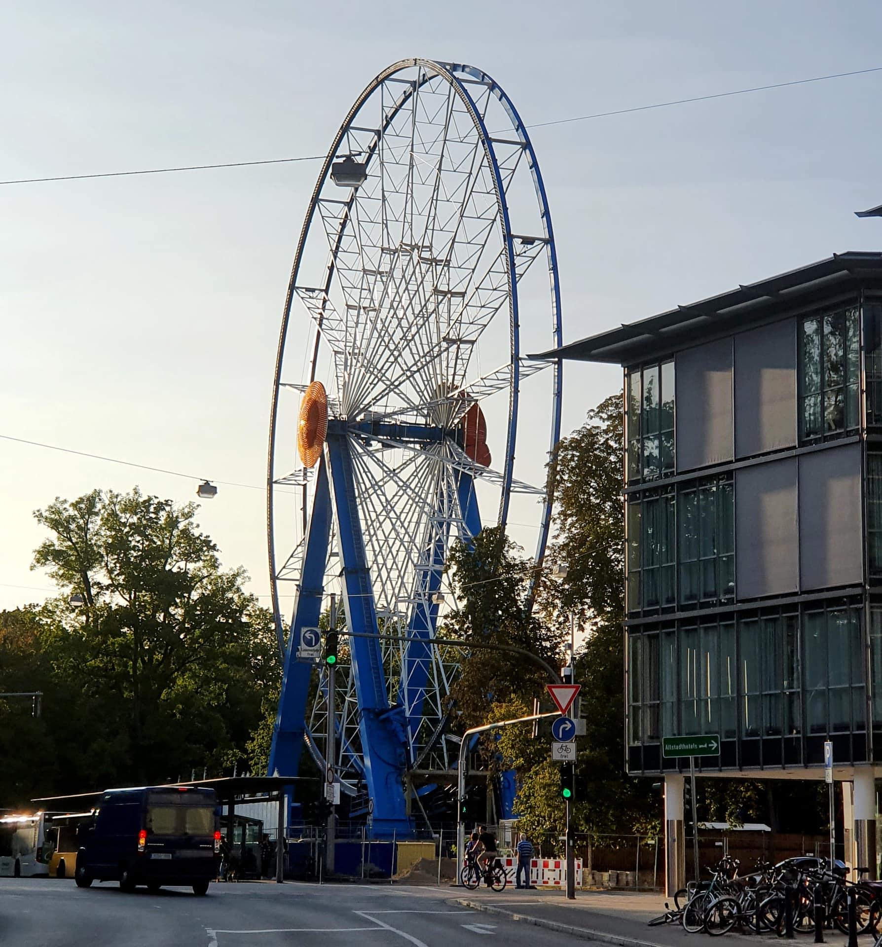 Wegen Corona: Riesenrad in Regensburg muss weg Zwischennutzung auf dem Kepler-Areal wird beendet