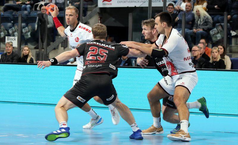 (Jocki_Foto, Erlangen) - Handball: MT Melsungen kam beim HC Erlangen unter die Räder