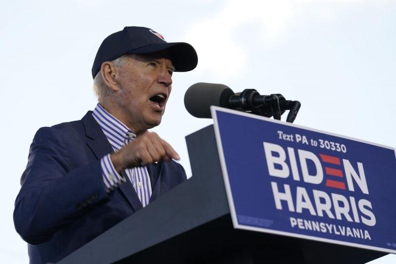 Joe Biden: Donald Trump hat vor dem Coronavirus kapituliert Wahlkampf in den USA geht in die heiße Phase