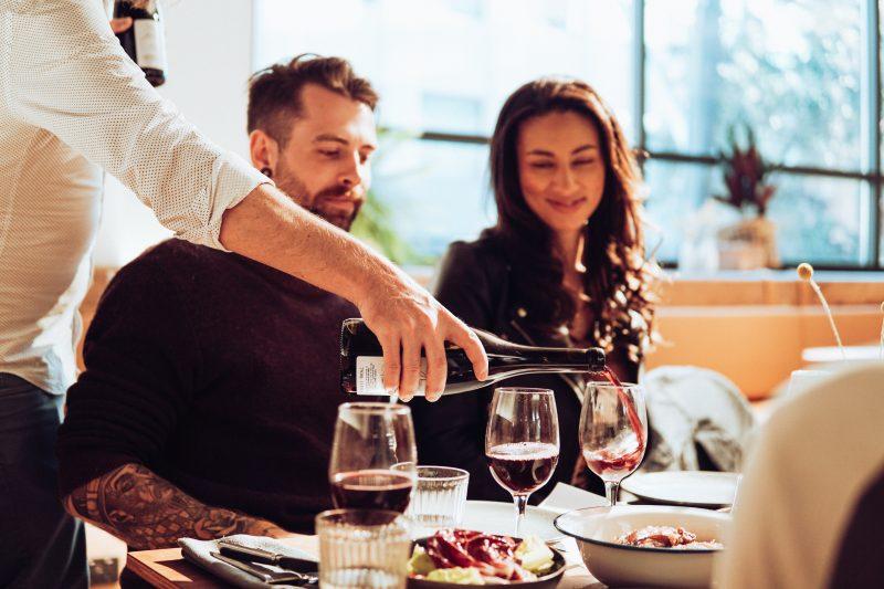 Es wird wieder wild-romantisch beim Blizz Gourmet-Dinner mit Sieben-Gang-Menü und Weinbegleitung