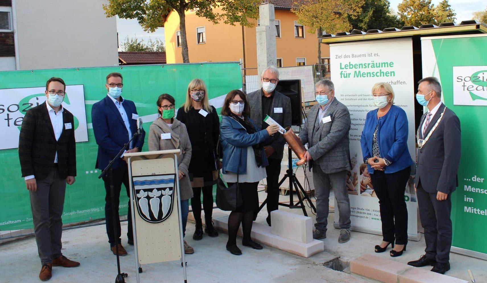 Neuer Lebensraum für Senioren in Pfatter Senioren-Servicehaus: zukunftsweisendes Wohn-, Betreuungs- und Pflegeprojekt