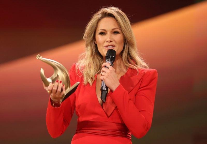 Helene Fischer nach einem Jahr zurück auf Bühne Preisverleihung «Die Goldene Henne»