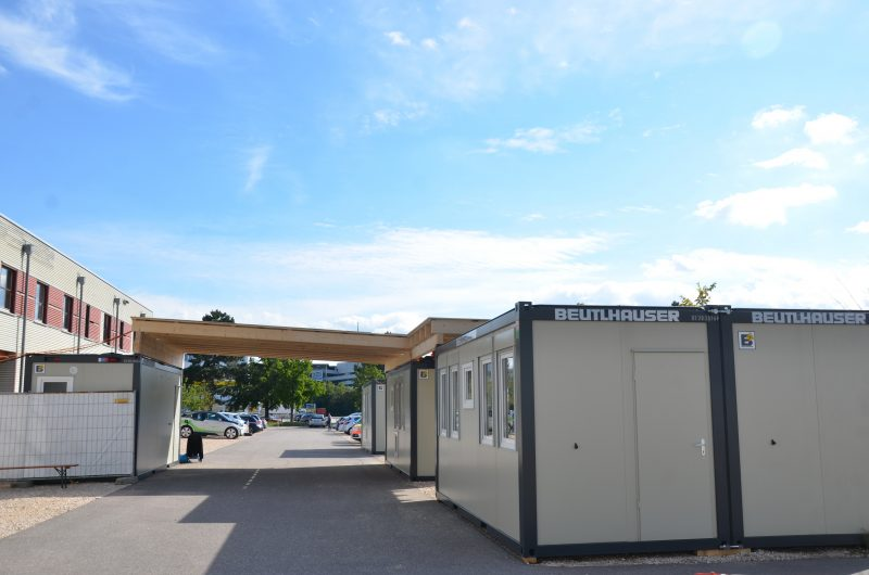 Corona-Testzentrum führt auch Reihentestungen durch Konzept des Testzentrums am Landratsamt hat sich bewährt