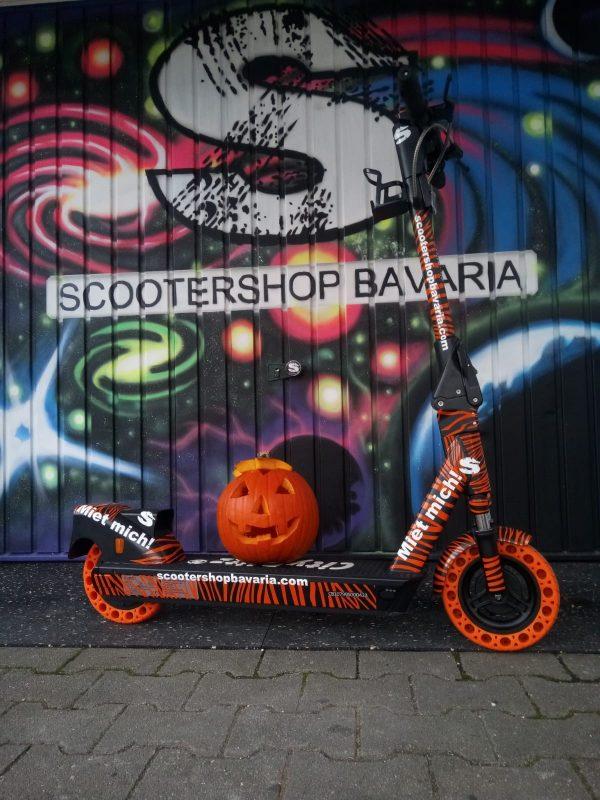 Rumflitzen mit dem CityBlitz FLASH vom Scooter Shop Bavaria in Regensburg Blizz verlost ein Wochenende mit einem E-Scooter