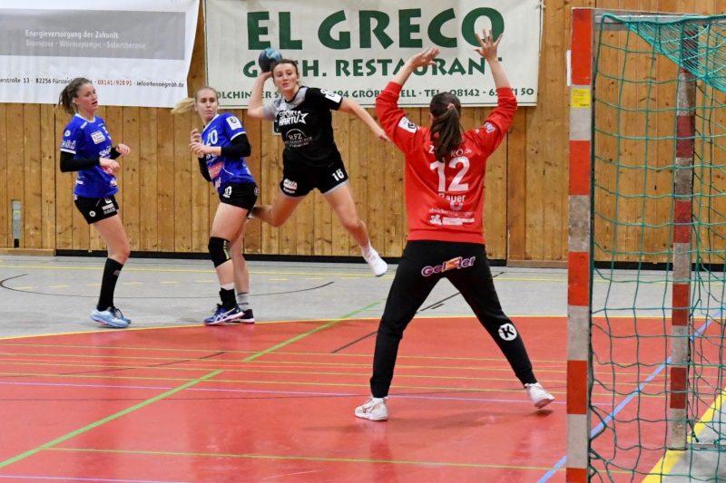Zweites Spiel, zweites Derby für den ESV 1927 Regensburg Handball-Damen messen sich mit der HSG Würm-Mitte