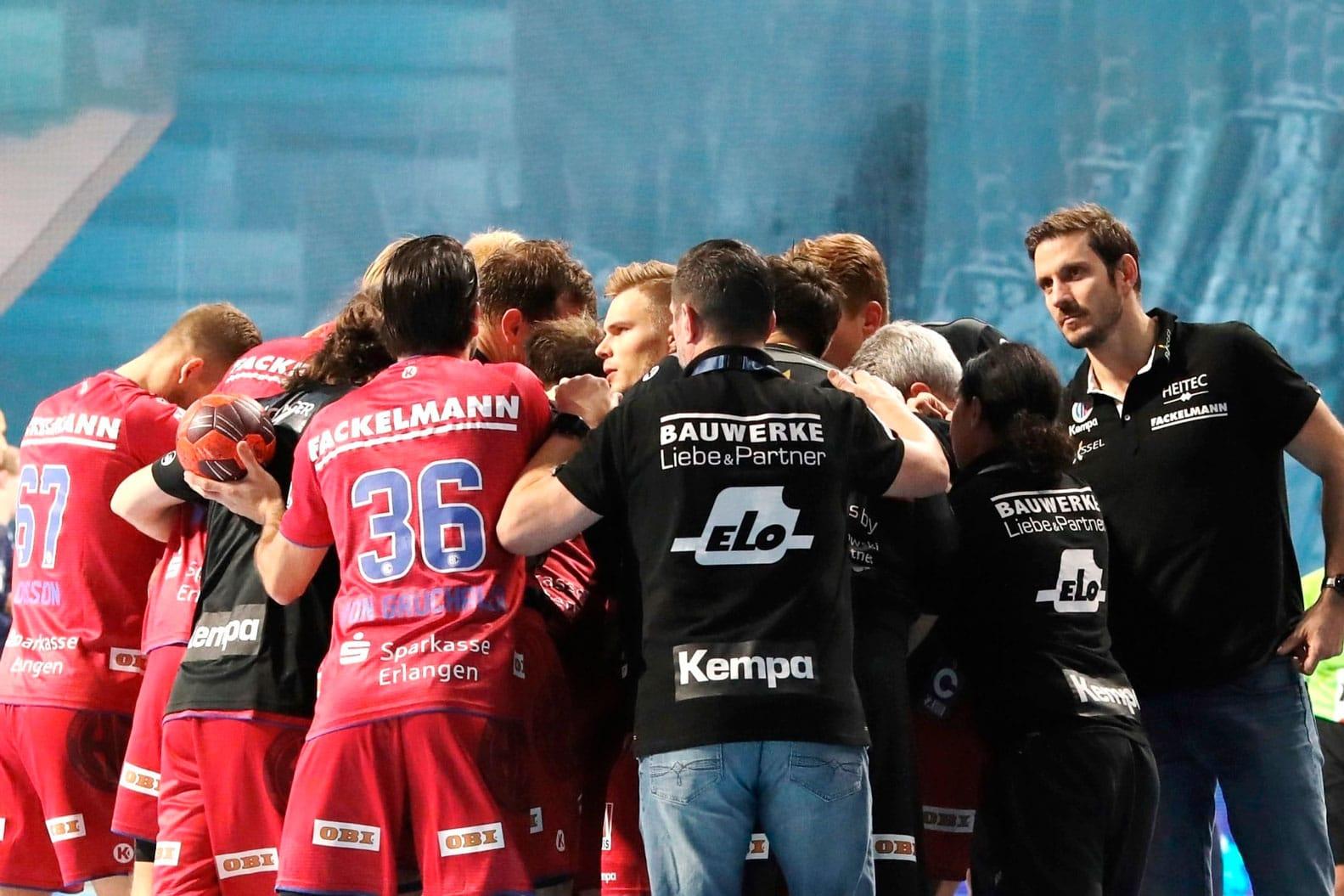 Handball: Erlangen feiert ersten Auswärtssieg der Saison HC Erlangen wird seiner Favoritenrolle gerecht