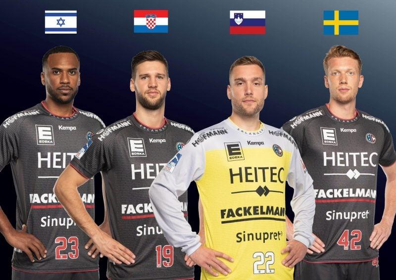 Handball: Erlanger bei der EHF EURO Qualifikation dabei Vier Spieler des HC Erlangen im Kader der jeweiligen Nationalmannschaften
