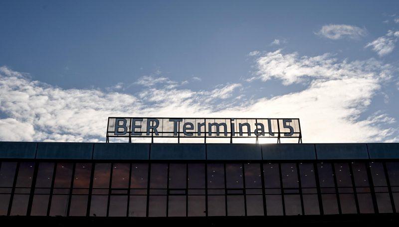 Terminal 5 am Flughafen BER