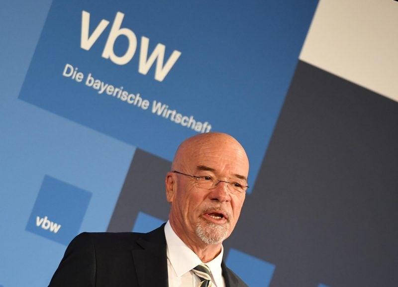Vbw-Präsident Wolfram Hatz