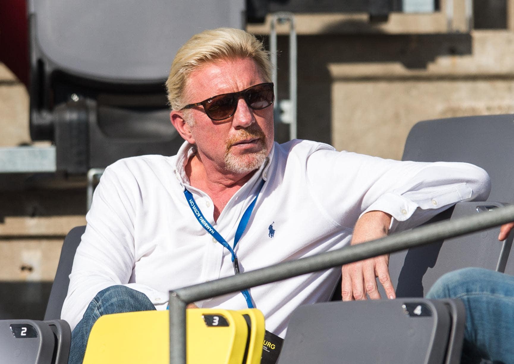 Boris Becker verlässt den DTB Tennis-Ikone