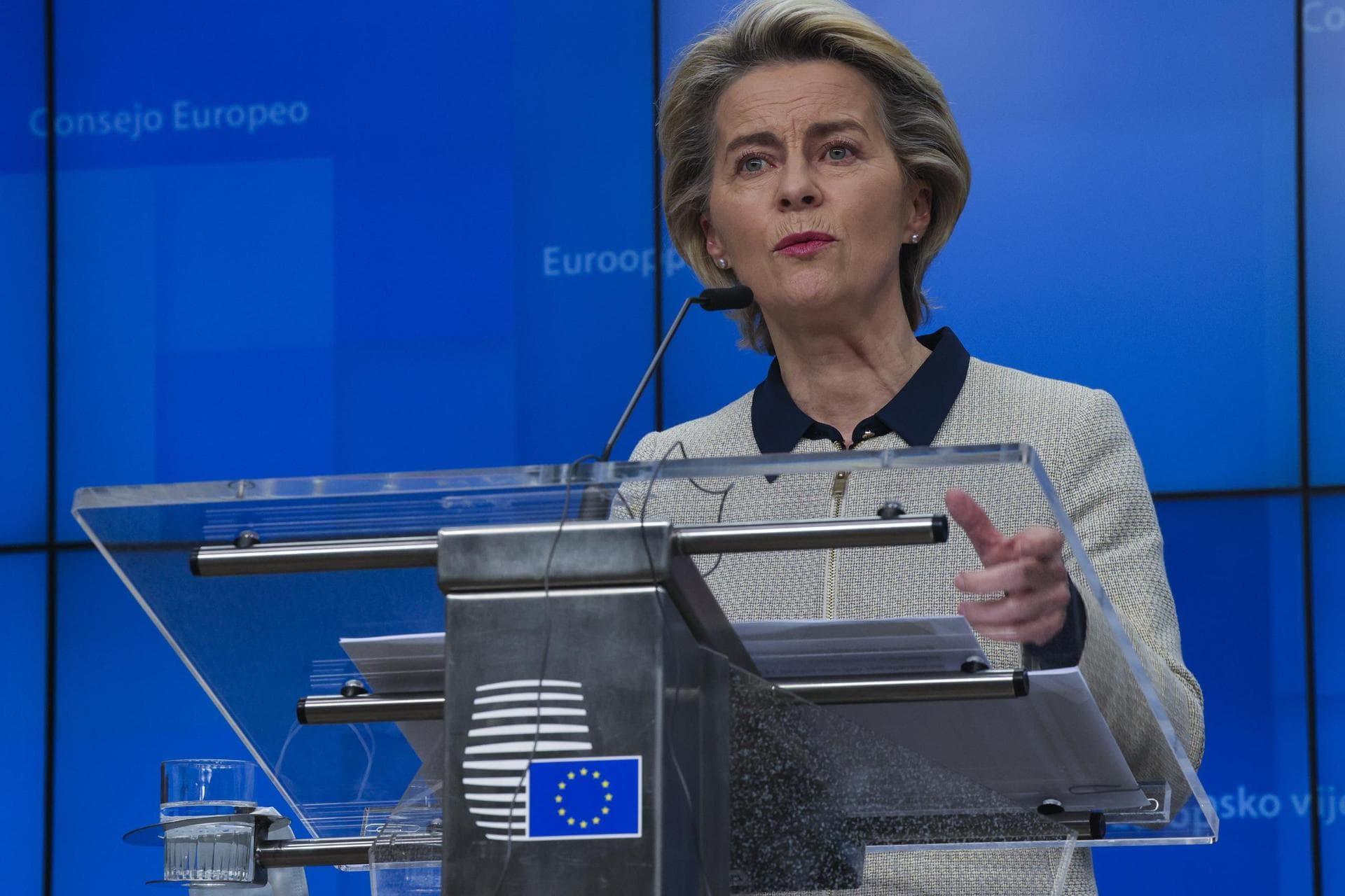 Brexit-Handelspakt: Von der Leyen sieht Fortschritte Zähe Verhandlungen