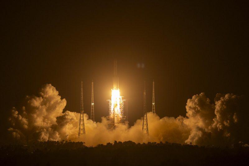 China startet Raumschiff zum Mond