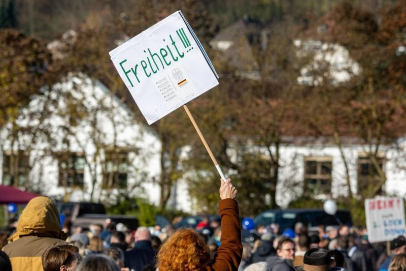 Demonstration «Querdenken» - Regensburg