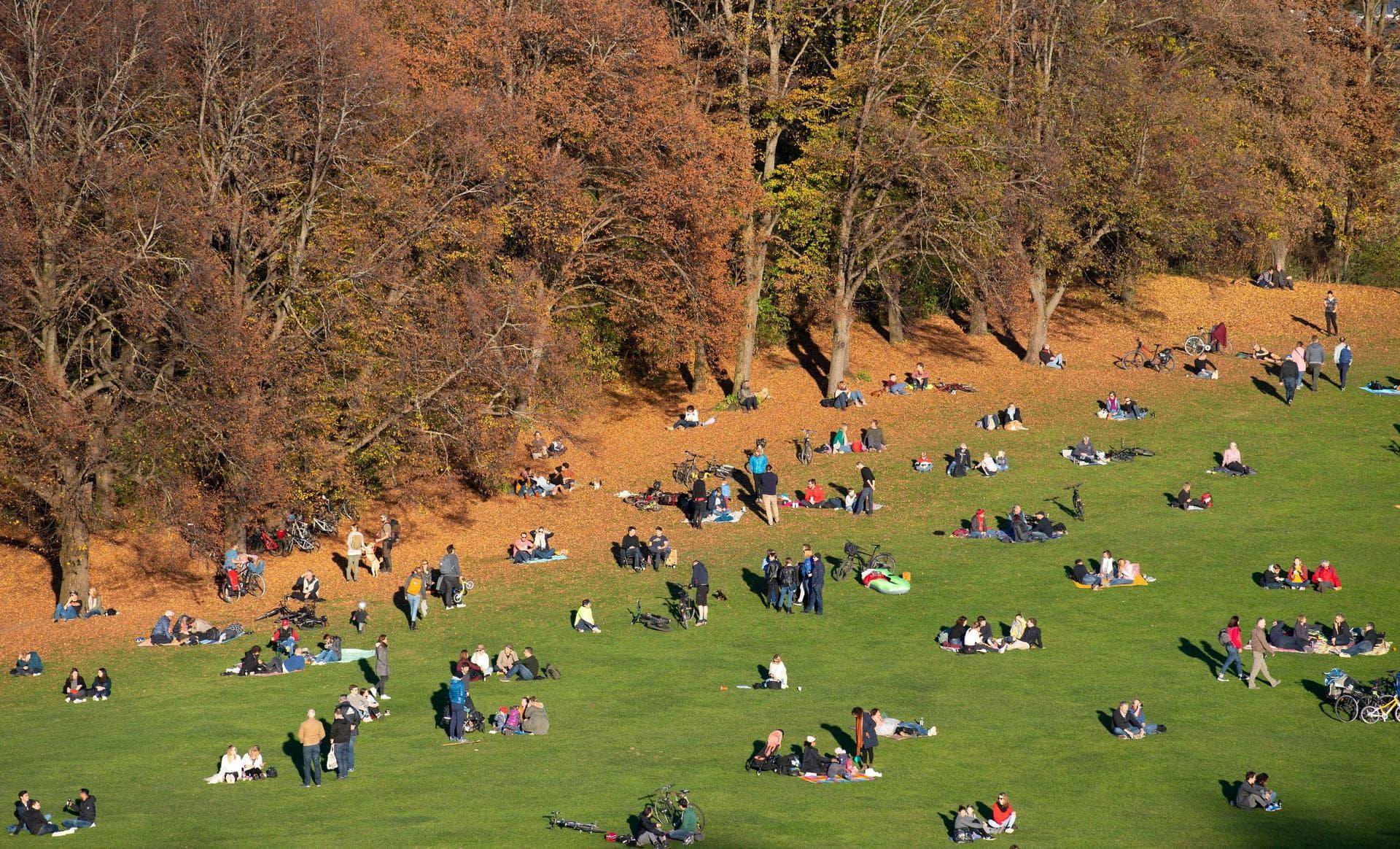 Der viertwärmste Herbst seit Beginn der Wetteraufzeichnungen Durchschnittlich 10,3 Grad