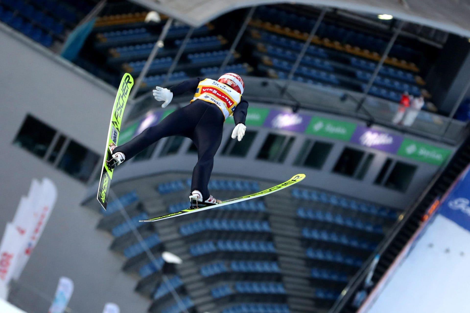 Deutsches Skisprung-Team holt gleich Podestplatz Weltcup in Wisla