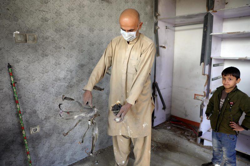 Raketenangriff in Kabul