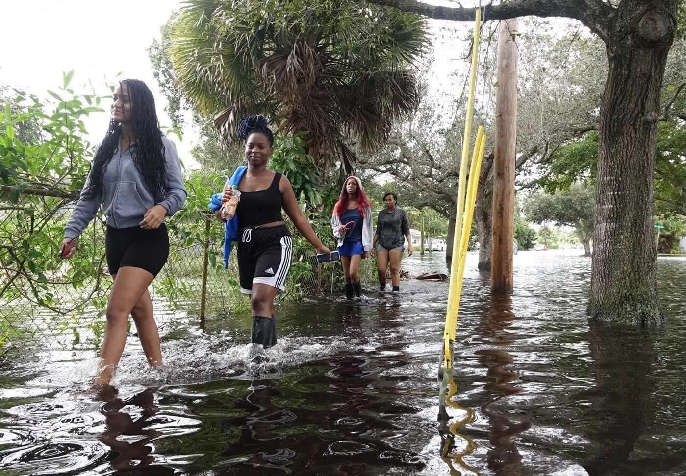 «Eta» stürmt in Florida – Suche nach 100 Opfern beendet Gefahr noch nicht gebannt