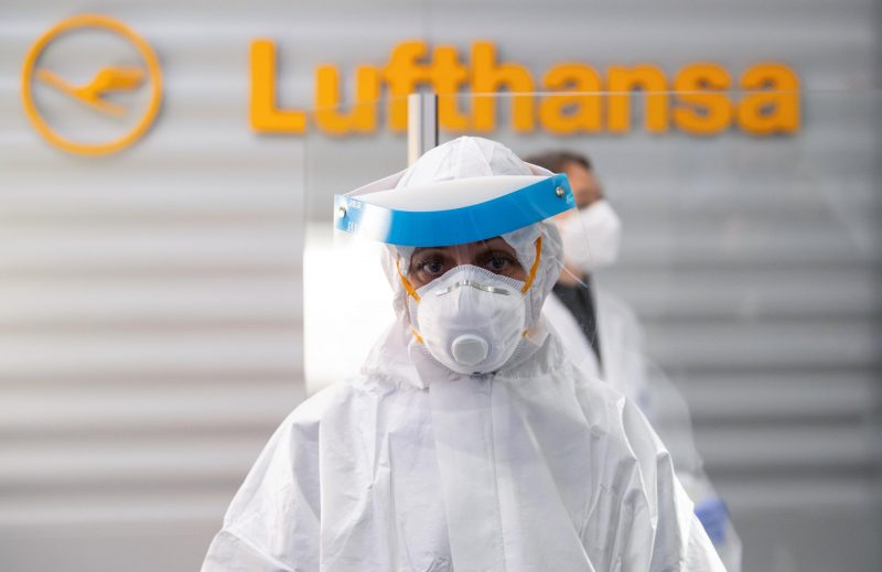 Lufthansa startet Antigen-Schnelltests