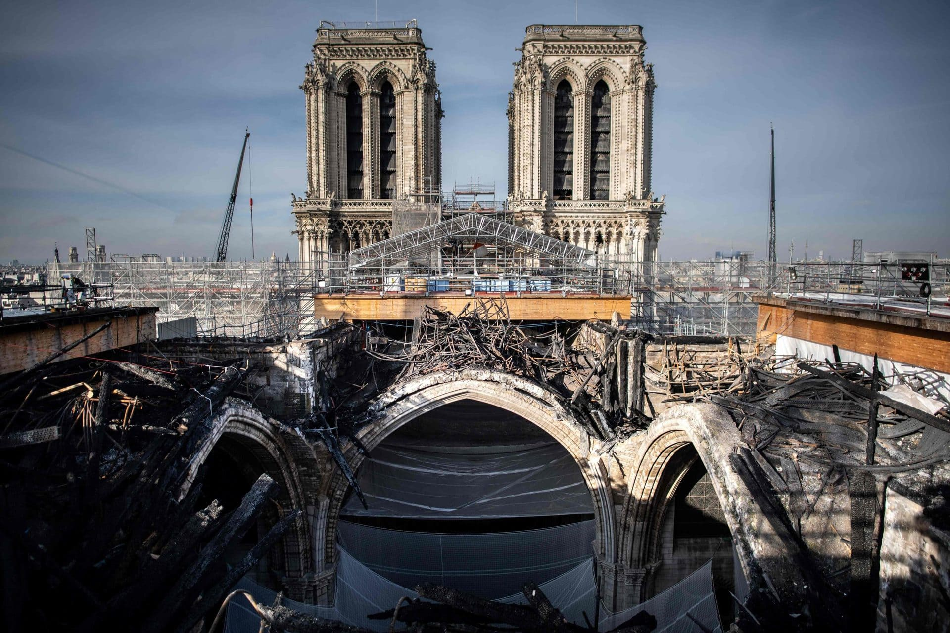 Frankreichs Kulturministerin: «Notre-Dame ist gerettet» Brand-Katastrophe