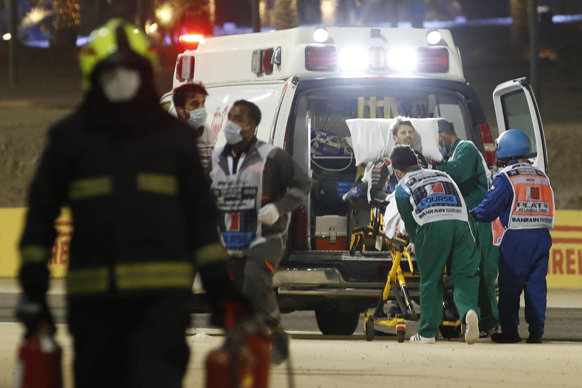 Grosjean-«Schocker» als «kraftvolle Mahnung» für Formel 1 Feuer-Unfall in Bahrain