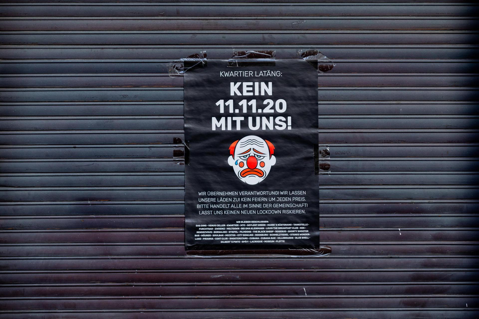 Karnevalsbeginn am 11.11. auf Sparflamme Närrische Saison