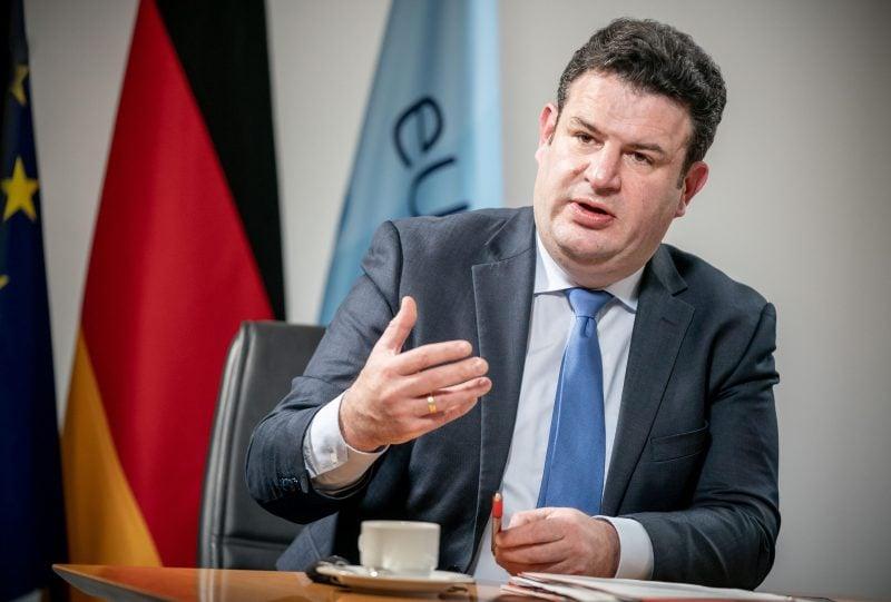 Arbeitsminister Hubertus Heil