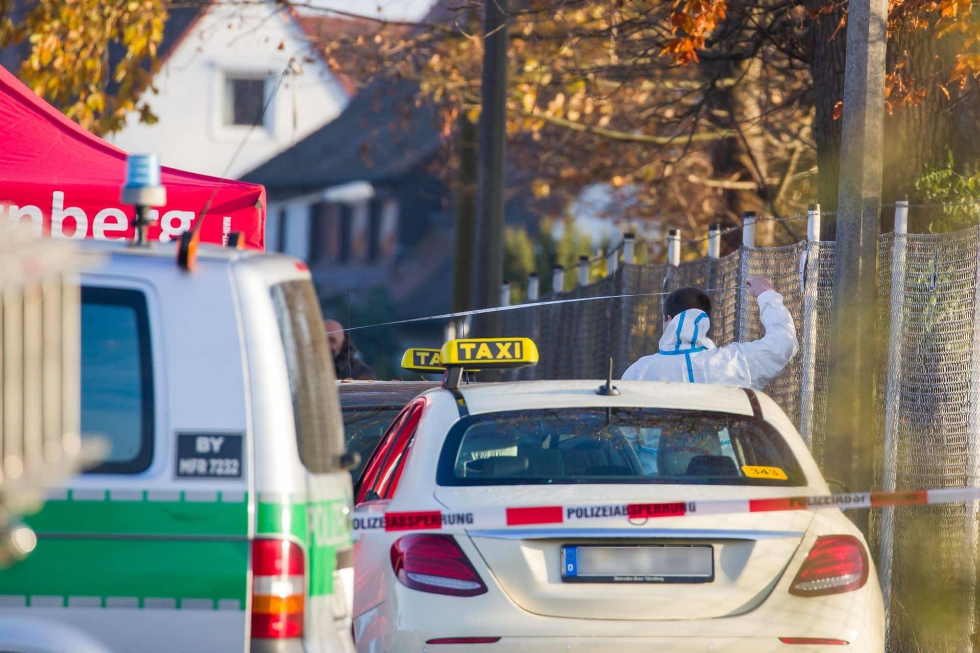 Ehemann nach Schüssen wegen Mordverdachts in U-Haft Zwei Menschen auf offener Straße in Nürnberg erschossen
