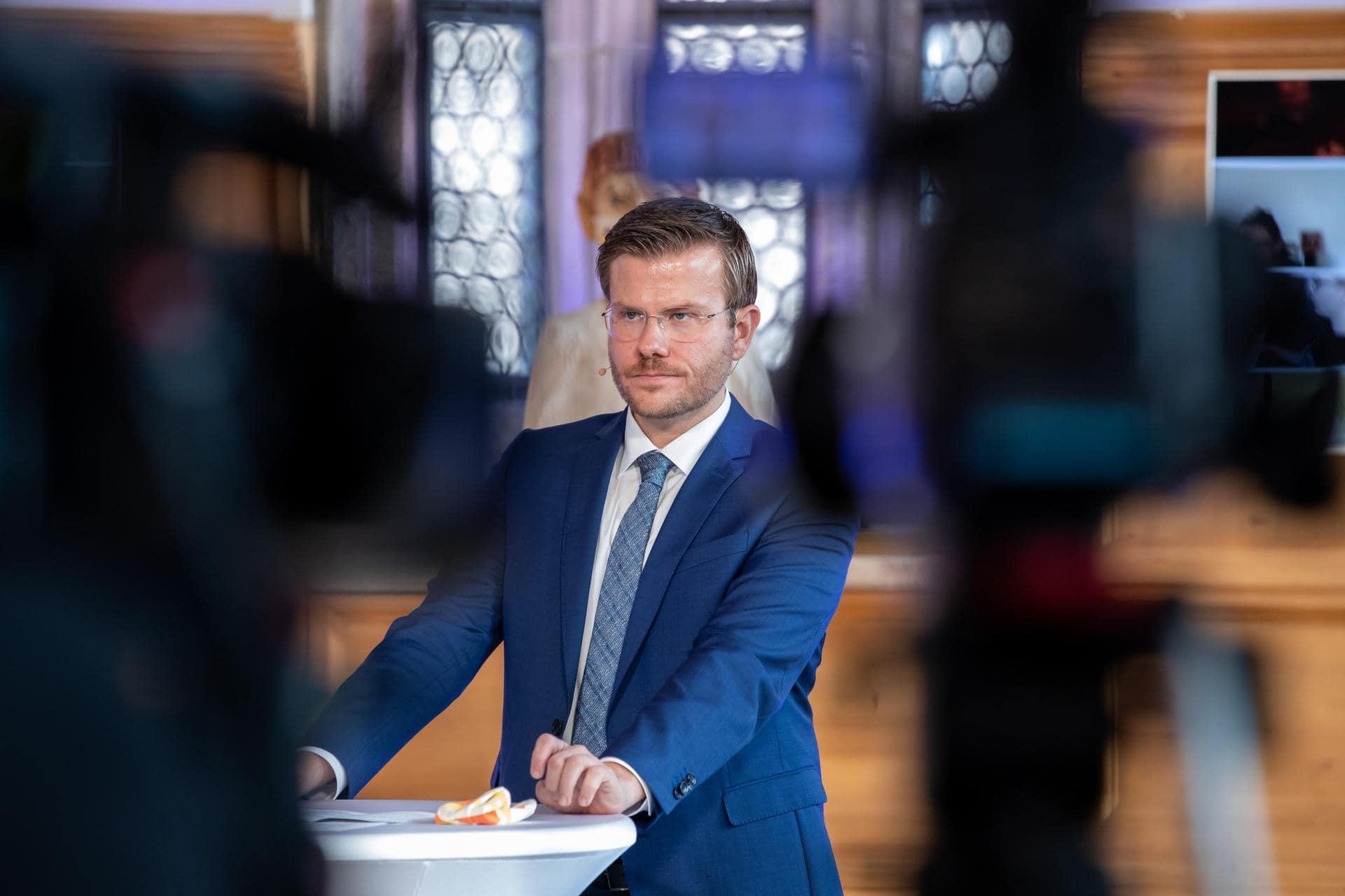 Marcus König (CSU), Oberbürgermeister von Nürnberg. Foto: Daniel Karmann/dpa/Archivbild