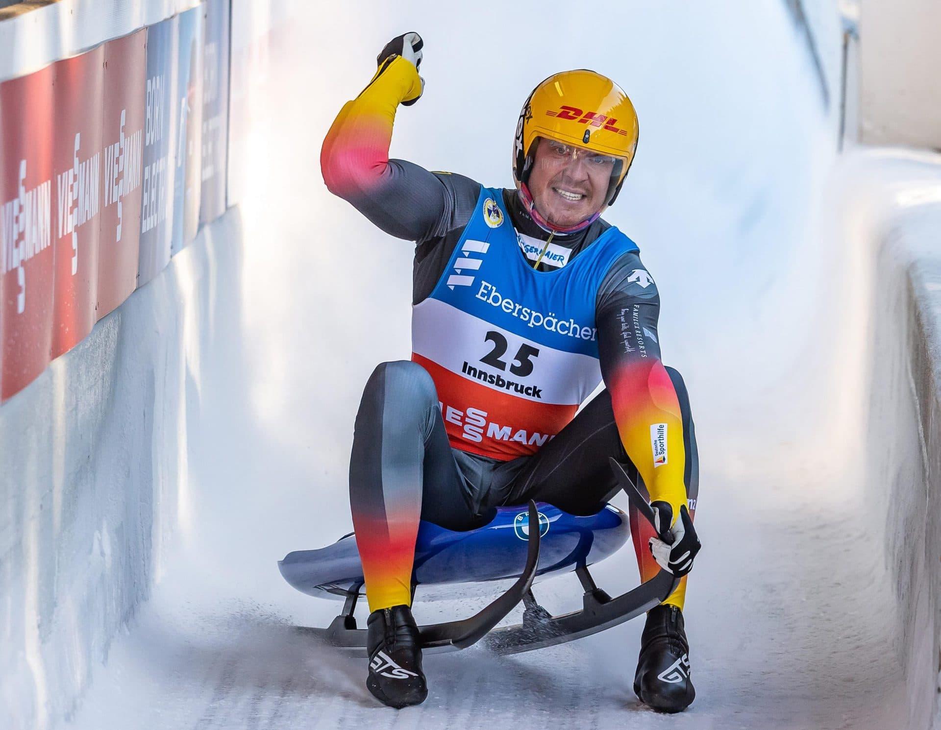 Starker Einstand für deutsche Rodler: Loch siegt vor Ludwig Weltcup in Innsbruck