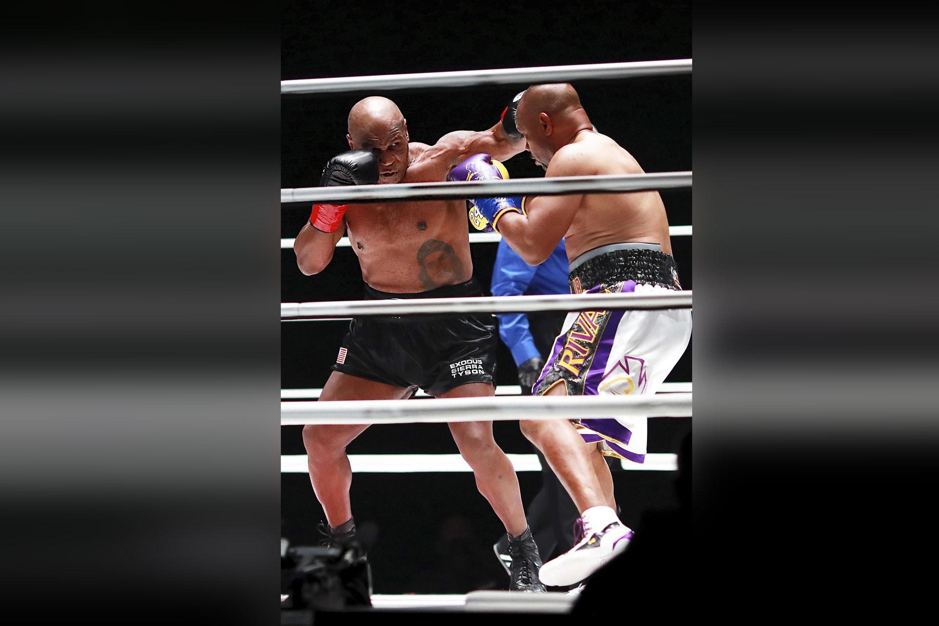 Tysons Comeback-Langweiler gegen Jones Prügelei am Barbecue Box-Sparring in LA