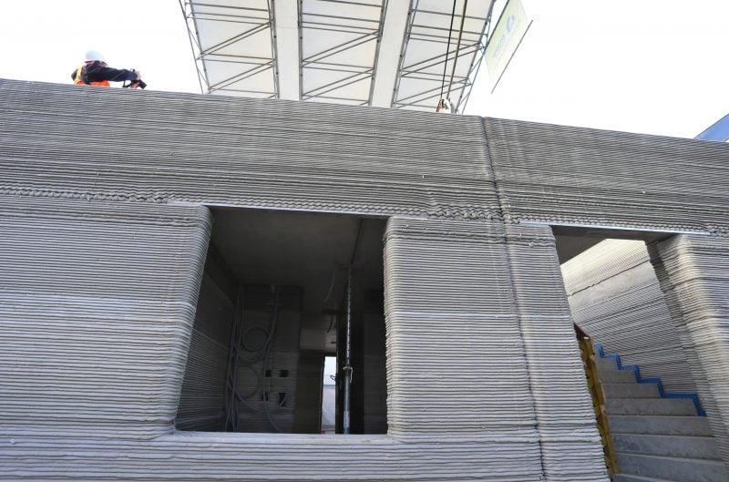 Mehrfamilienhaus entsteht aus 3D-Betondrucker